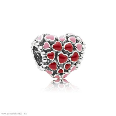 Pandora Prezzi Burst Of Amore Charm Mixed Enamel